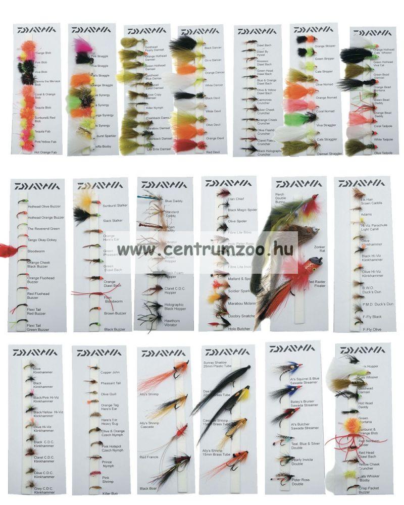 Daiwa Hothead Lures Selection DFC-15 műlégy szett 2013NEW Collection