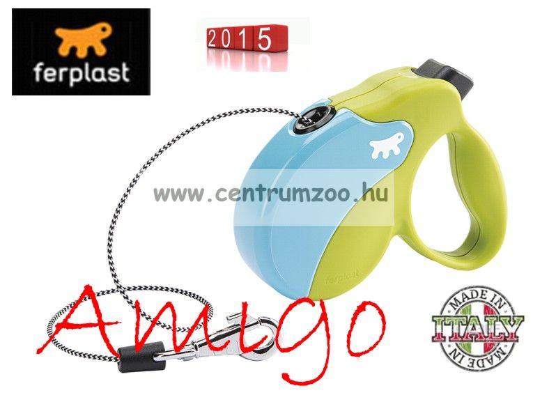 Ferplast AMIGO CORD MINI automata póráz BLUE-GREEN