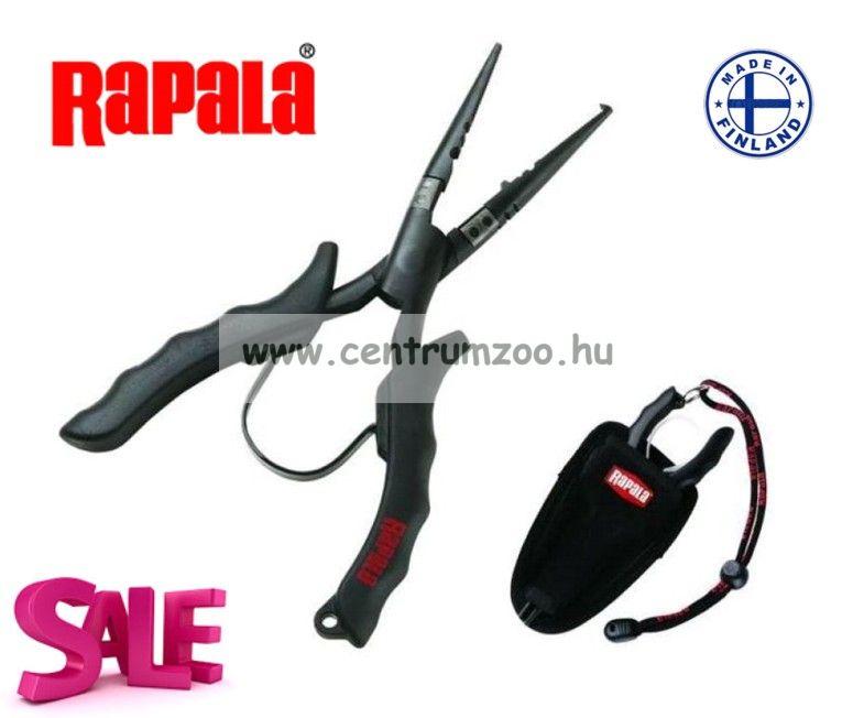Rapala rozsdamentes fogó Carbid vágóbetéttel 16cm - RCPLR6