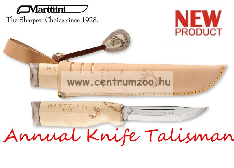 Marttiini Annual Knife Talisman 23cm (5700316) prémium tőr prémium bőr tok