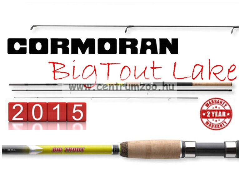 Cormoran Big Trout Lake 3.60m 2-15g  (25-791536)M