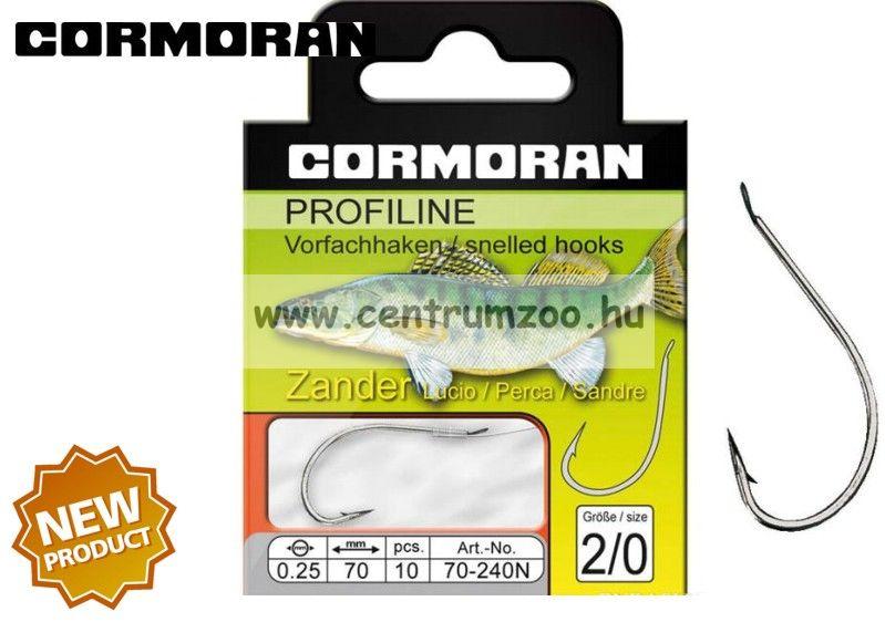 Cormoran PROFILINE SÜLLŐS horog 240N ELŐKÖTÖTT 2db/cs (70-240N)