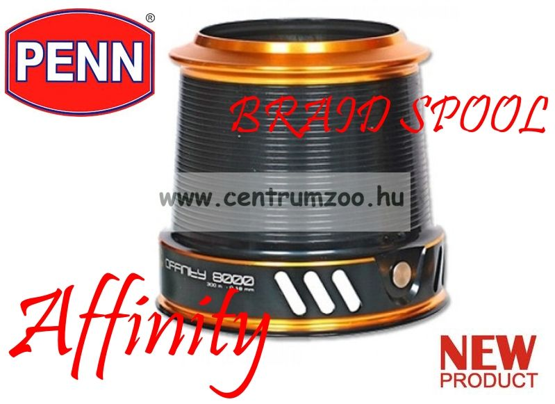 PENN AFFINITY 7000 BRAID SPOOL -PÓTDOB (1282734)
