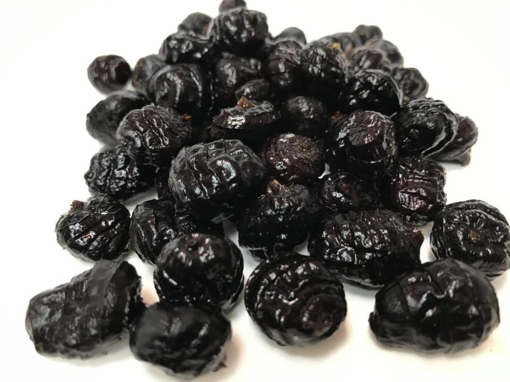 Tigrismogyoró FEKETE NAGY - TIGERNUTS BLACK XL (Chufa nero) 1kg 2016NEW - vákum csomagolt