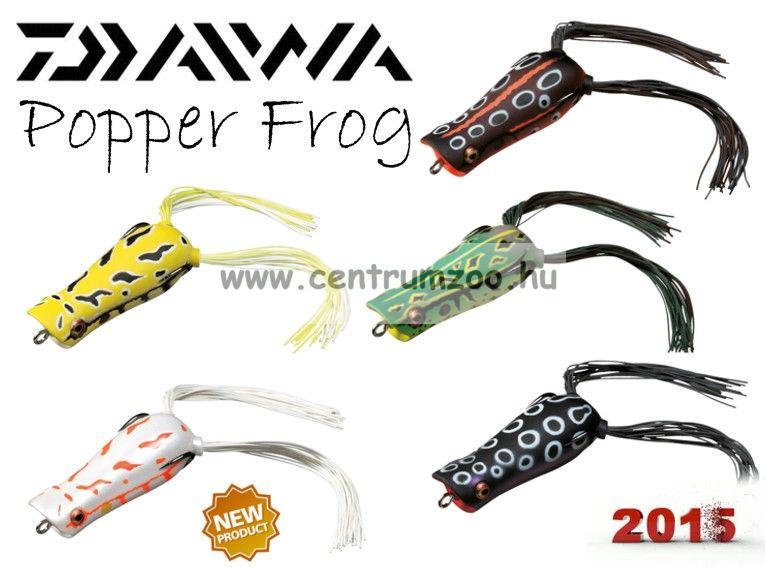 Daiwa D-Frog Popper 6,5cm béka műcsali - BLACK POISON (15602-308)