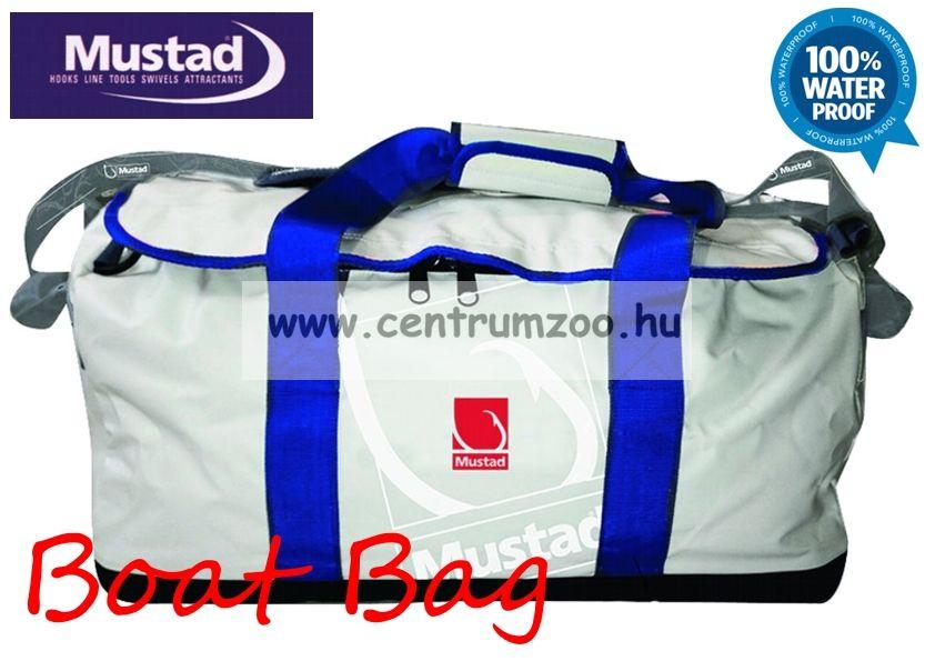 Mustad Boat Waterproof Bag 50l 61x28x30cm vízálló utazó táska (MB005)