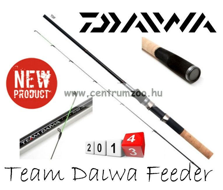 Daiwa Team Daiwa feeder bot 10ft (TDF10Q) (191932)