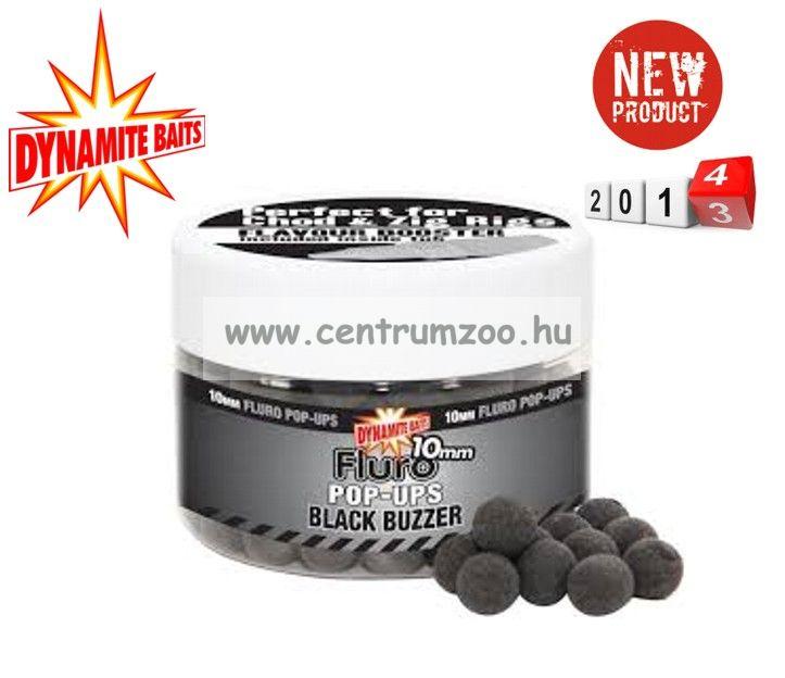 Dynamite Baits bojli Fluro Pop-Up Black Buzzer 15mm+Liquid Booster-DY603 DY604