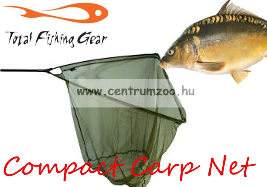 """MERÍTŐ  FOX Warrior S Compact Landing Net 42"""" (106cm) erős merítő szák (CLN029)"""