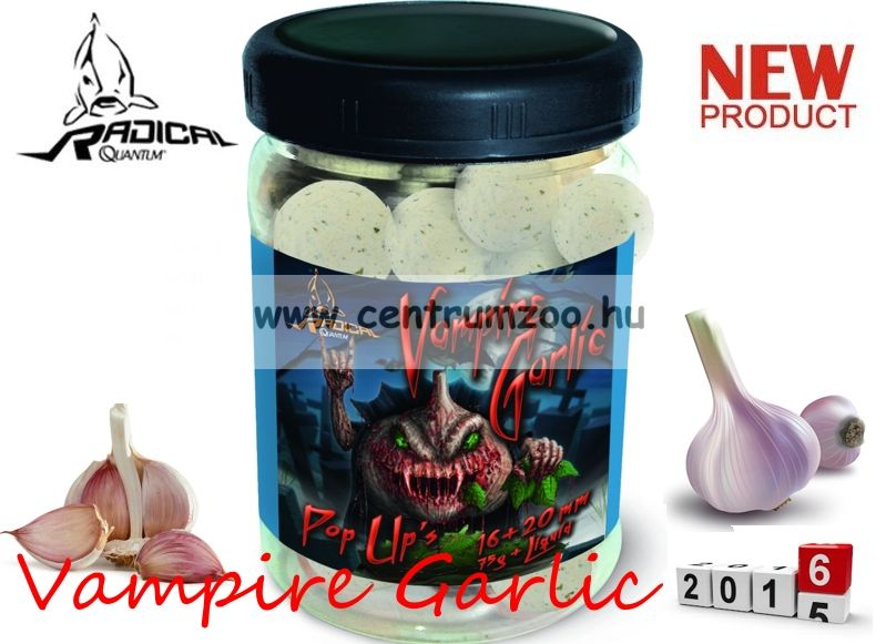 Radical Carp Vampire Garlic Pop Up's 16+20mm 75g (3949010)