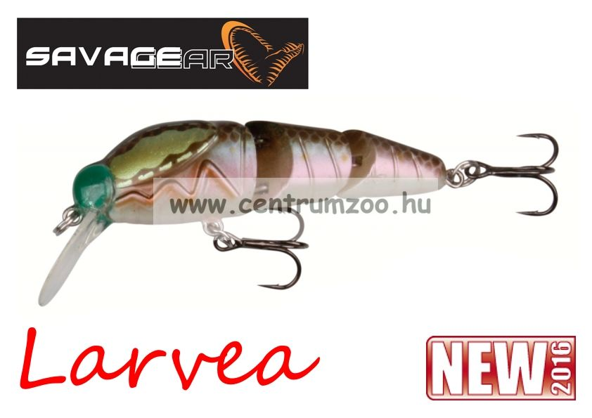 SAVAGE GEAR Larvea 55 5.5cm 5g SS  34-Olive Pearl (43603)