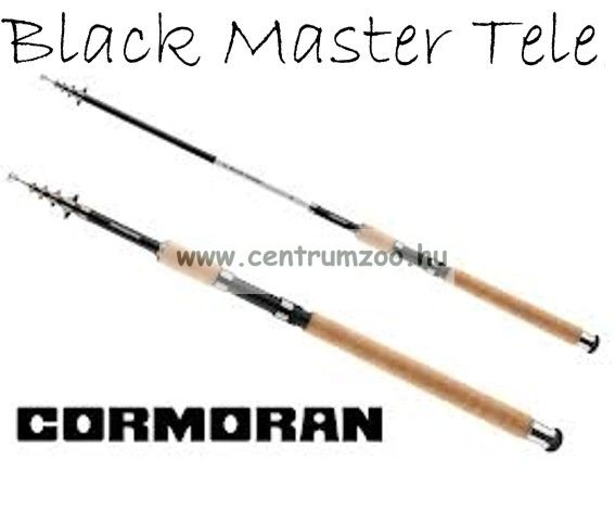 Cormoran Black Master Tele 30 teleszkópos horgászbot 2,70m  5-30g (28-830271)