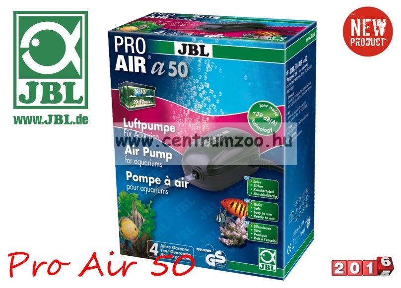 JBL ProAir a50 csendes légpumpa + cső + porlasztó + szelep (JBL60546)