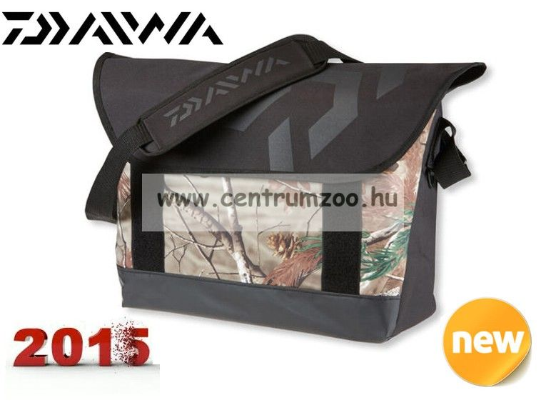 DAIWA Realtree AP® Camo Messenger Flap Bag masszív táska (15820-320)