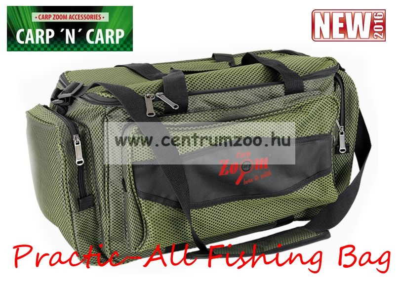 Carp Zoom Practic-All Fishing Bag horgásztáska 58x23x29cm (CZ1765)