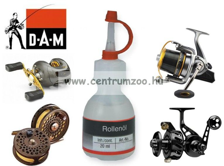 D.A.M REEL OIL orsóolaj 20ml (D2988000)