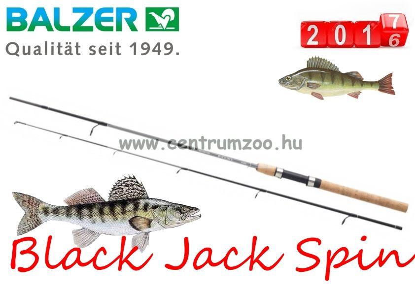 BALZER Black Jack Spin pergető bot 1,9m 8-25g (11625190)