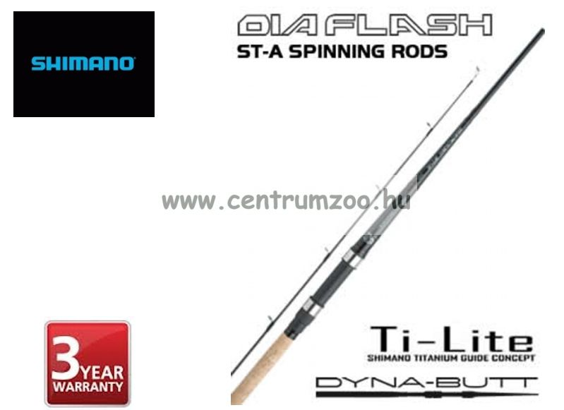 Shimano bot DIAFLASH ST-A SPINNING 330 MH (SDFSTA33MH) pergető bot