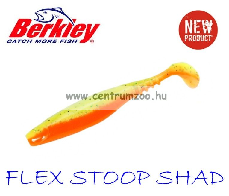 Berkley Flex STOOP Shad gumihal FIRETIGER 10cm (1345802)