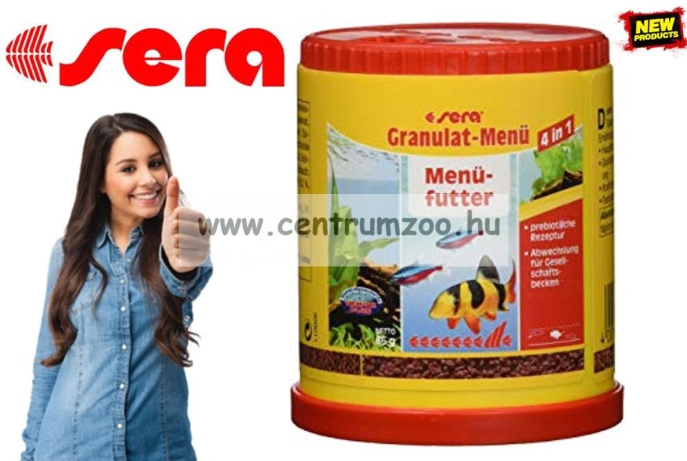Sera Granulat Menü 150ml granulált díszhaltáp