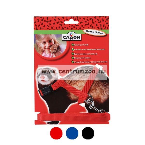 Camon Parure per furetto görény hám több színben (H413)