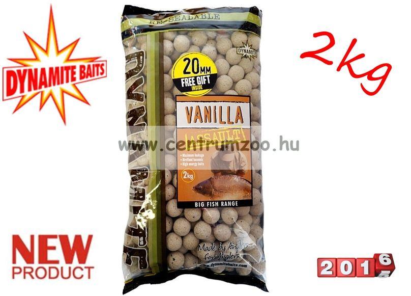 Dynamite Baits bojli Vanilla Assault Shelf Life - 20mm - 2kg - DY625