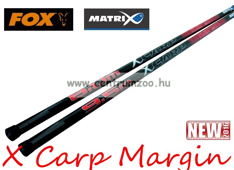 FOX Matrix X Carp Margin Puller pole 9.5m rakós bot (GPO028)
