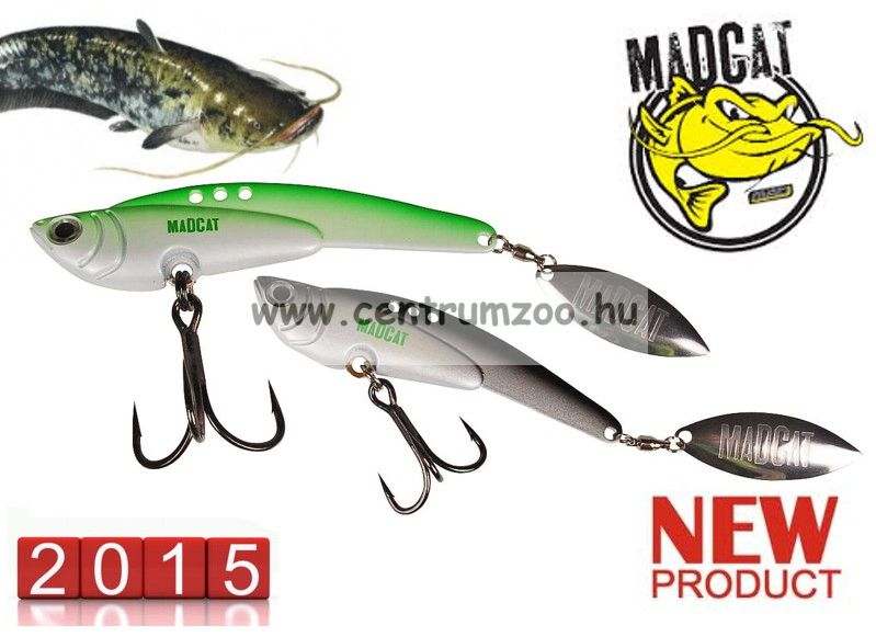 MAD CAT MADCAT E-LUZION BLADE LURE / 100 g / BLACK (5811199)