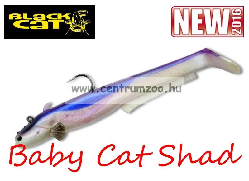 Black Cat Baby Cat Shad purple moon cat 75g 18cm 2db (3295303)