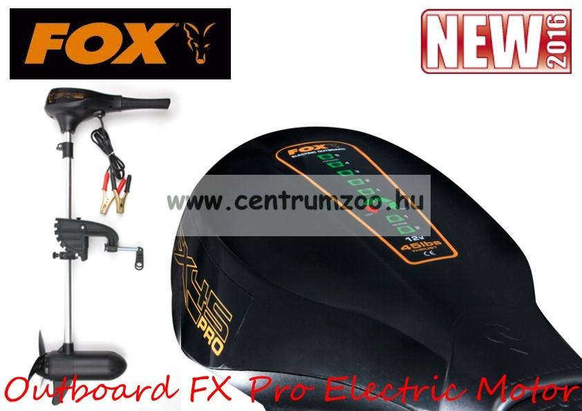 Fox FX Pro 35lbs 2 Blade Prop Outboard Professional Trolling elektromos csónakmotor 35lb (CEN006)