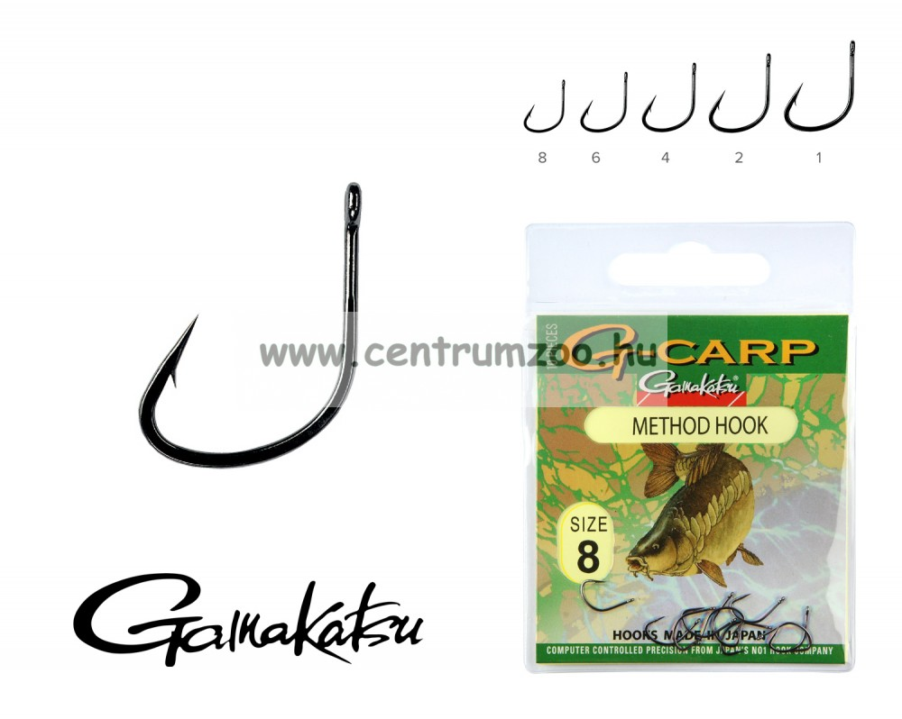 Gamakatsu G-Carp method 10/cs. 1 (146824-001)