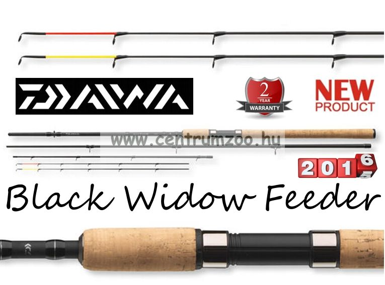 Daiwa Black Widow Feeder 3,30m 100g feeder bot  (11789-330)