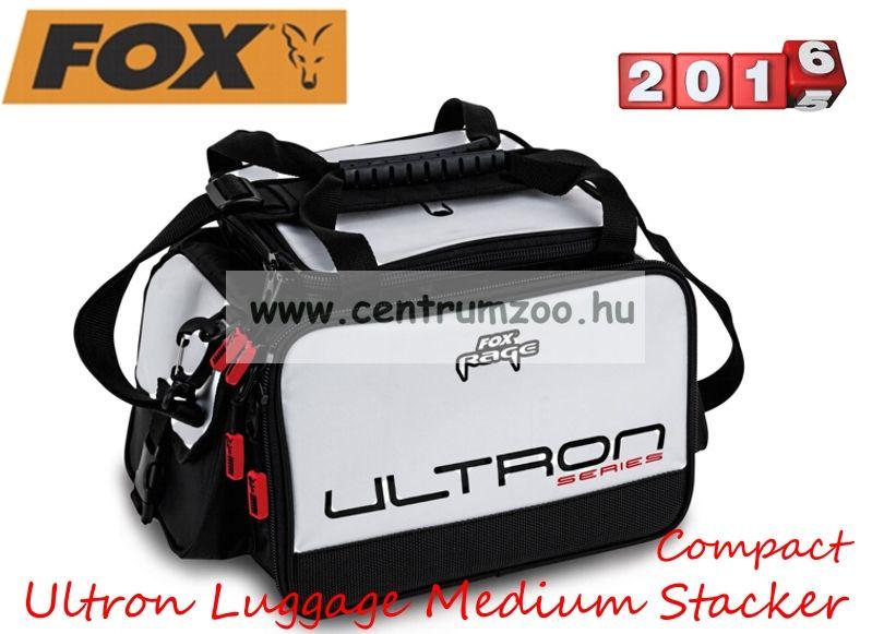 Fox Ultron Luggage Medium Compact Stacker pergető horgásztáska 30x25x25cm (NLU016)