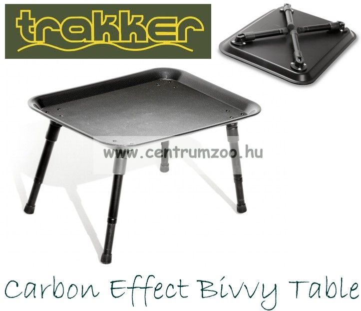 TRAKKER Carbon Effect Bivvy Table (210205)