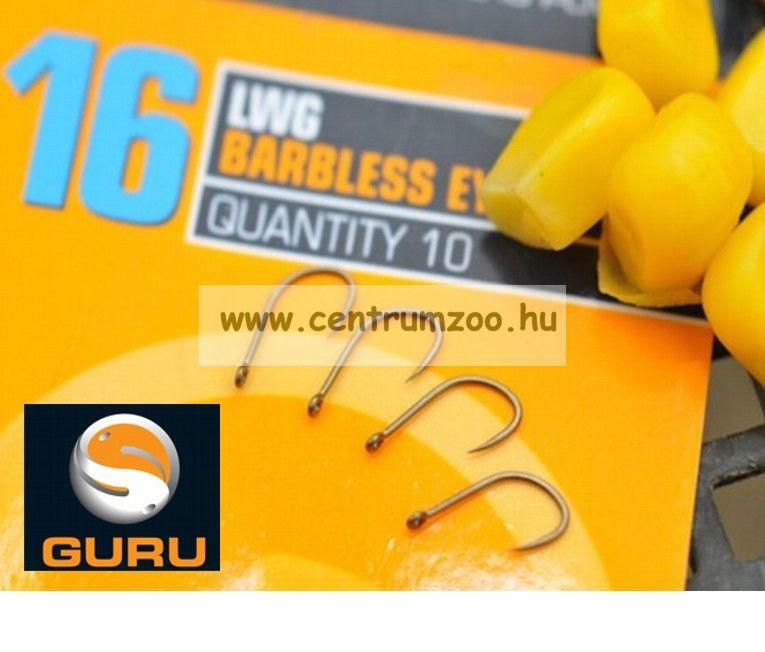 GURU LWG Hook horog 12-es méret (GLWG12)