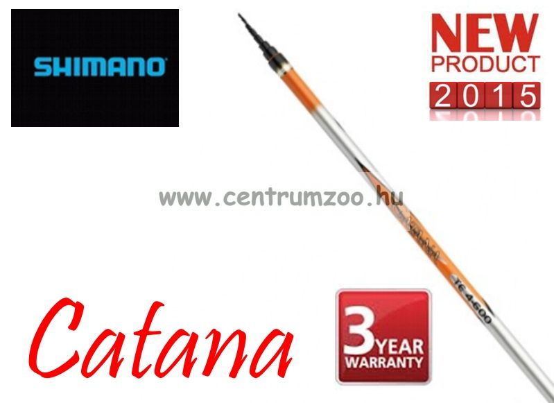 Shimano bot CATANA TELESCOPIC TE 4-500 5,0 m ACTION 4(CATTE450)