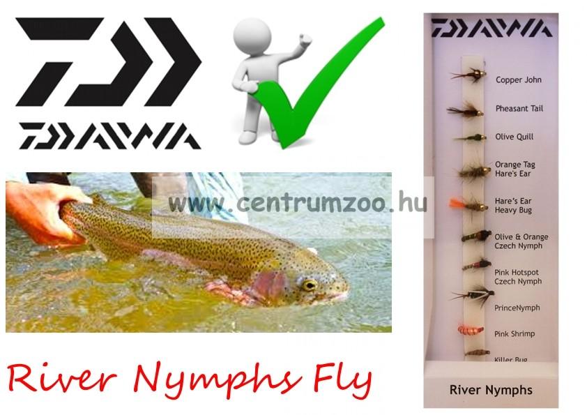 Daiwa Ryver Nymphs Selection DFC-4 műlégy szett NEW Collection