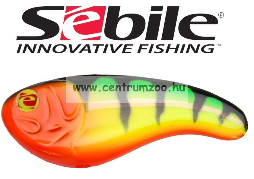 Sebile® Flatt Shad megbízható wobbler FS-077-SK - Fire Tiger (1407723)