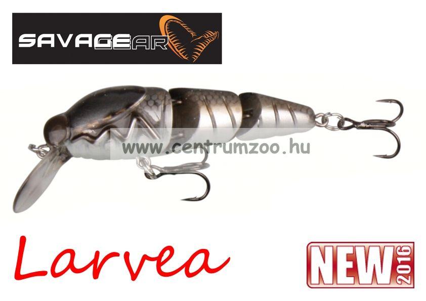 SAVAGE GEAR Larvea 55 5.5cm 5g SS 05-Dirty Silver (43599)