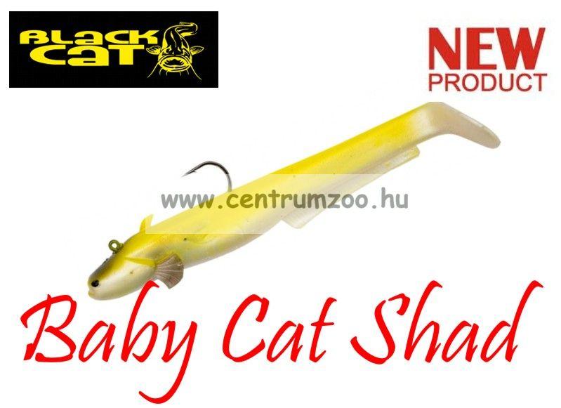 Black Cat Baby Cat Shad albino cat 75g 18cm 2db (3295302)