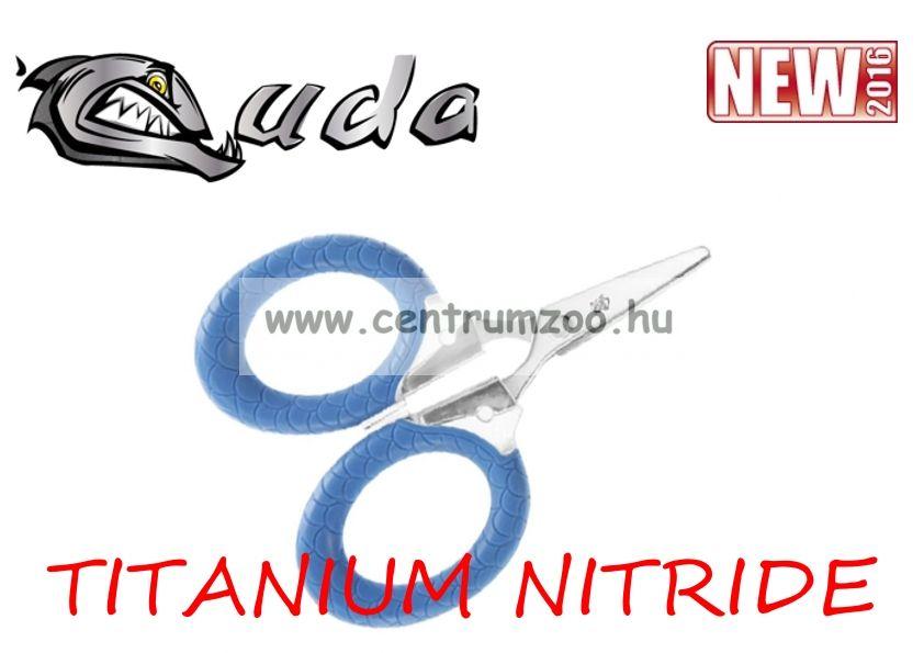 Cuda Mono & Braid Pliers TITANIUM NITRIDE OLLÓ zsinórok (80950-826)