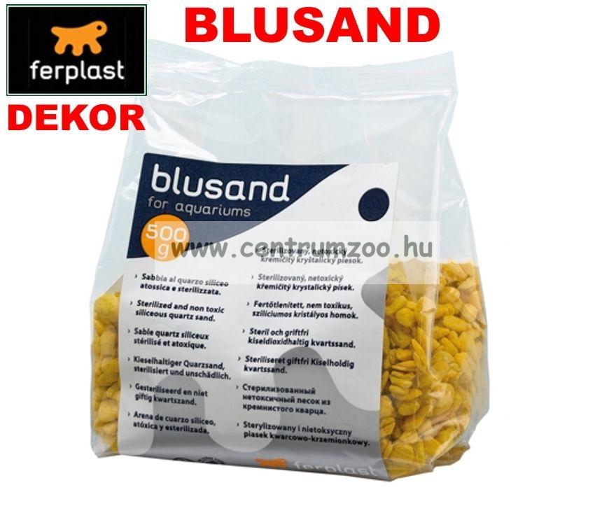 Ferplast Blusand Yellow kavics akvárium dekor - SÁRGA 500g