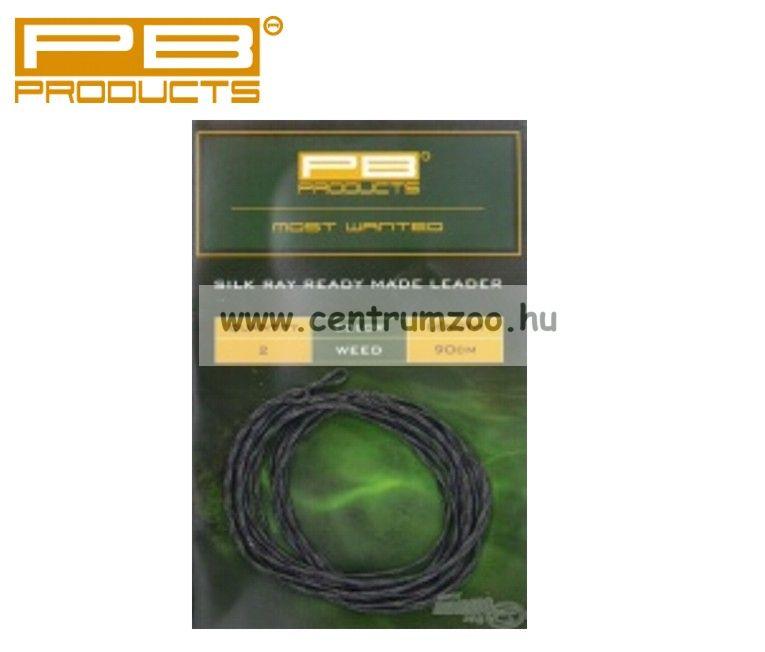 PB PRODUCTS SILK RAY READY MADE LEADER WEED 90 cm  előtét zsinór (SRL90)