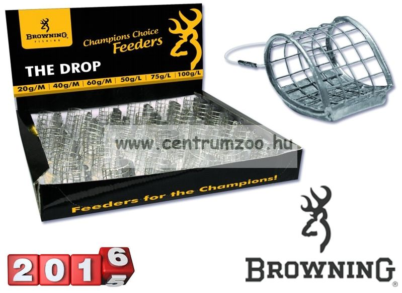 Browning The Drop Feeder kosár 20g (6666020)