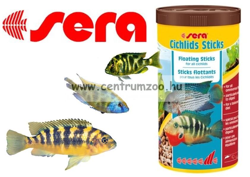 Sera Cichlids Sticks 1000ml sügértáp - gazdaságos kiszerelés (0210)