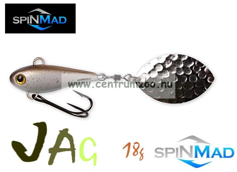 SpinMad Tail Spinner gyilkos wobbler JAG 18g 0902