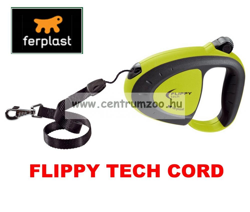 Ferplast Flippy Tech Deluxe Cord Small Green zsinóros póráz - ZÖLD