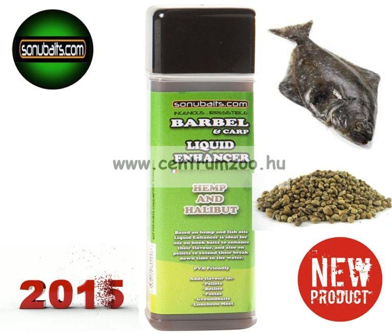 Sonubaits Flavour HEMP & HALIBUT kender és lepényhal aroma (SLF/HH)