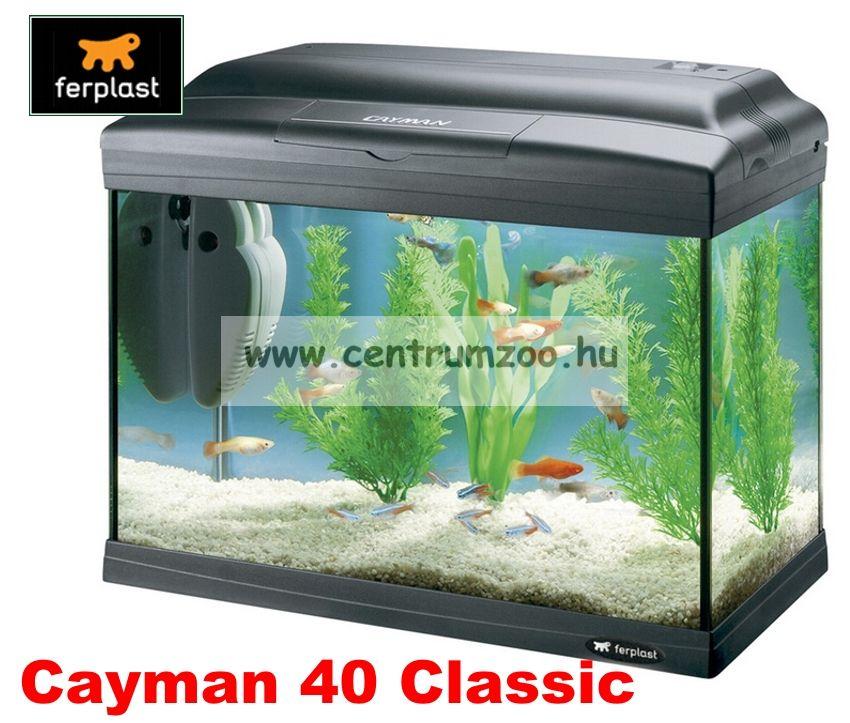 Ferplast Marex Cayman 40 Classic komplett prémium akvárium 21liter -AKCIÓ-