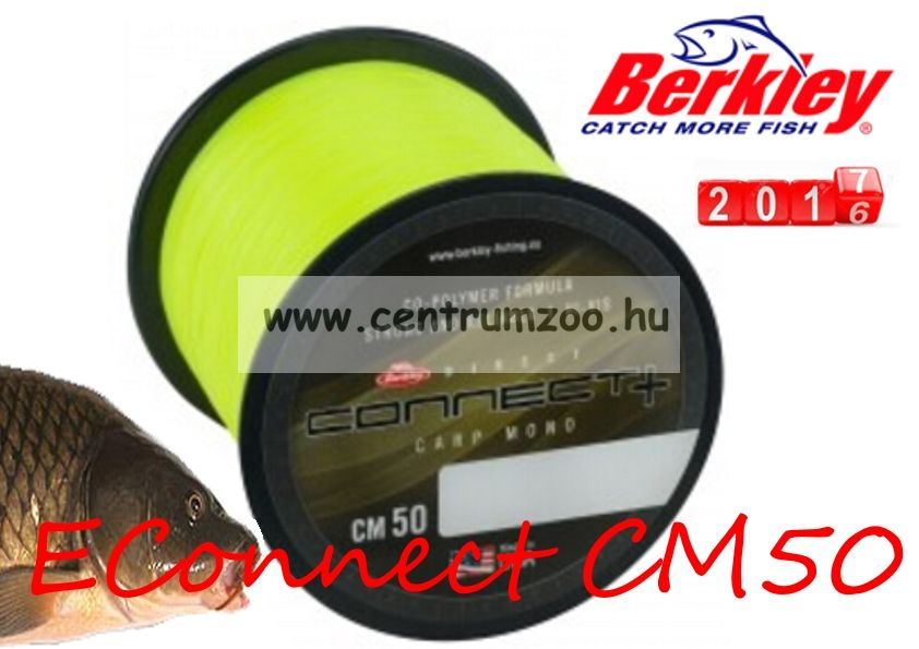 Berkley Direct Connect CM50  600m 0,25mm 4,5kg Yellow (1380442)